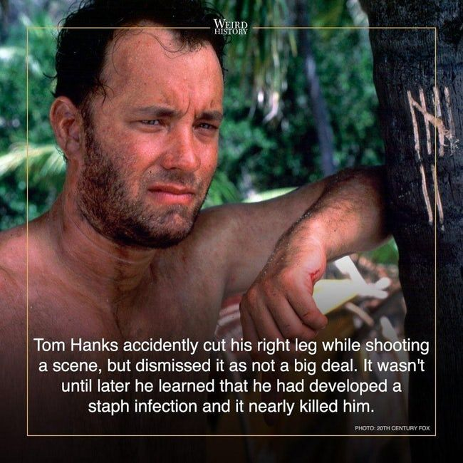Behind The Scenes Stories That Will Change The Way You Watch Cast Away Cast Away Movie It Cast Tom Hanks