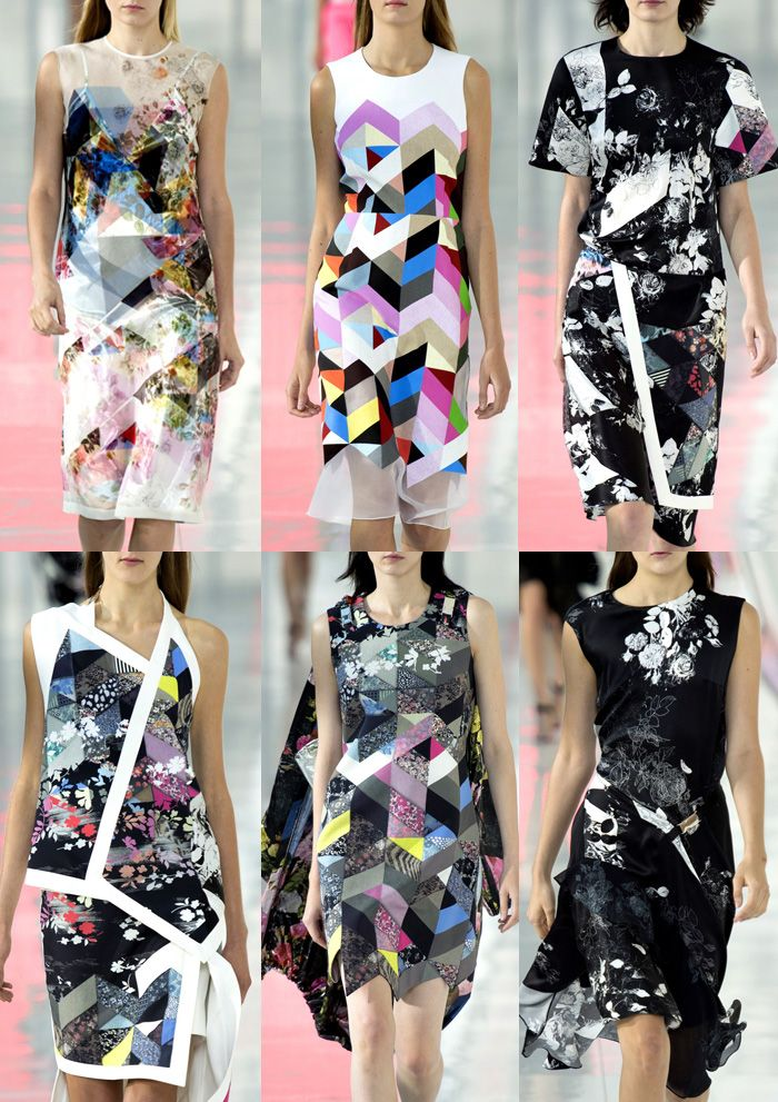 Preen By Thornton Bregazzi London Fashion Week   Spring/Summer 2014   Print Highlights   Part 2