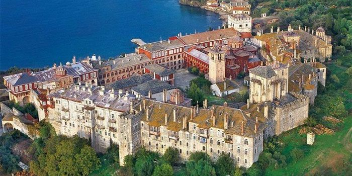 VISIT GREECE| Monastery of Vatopedi in #Athos, #Macedonia #Greece