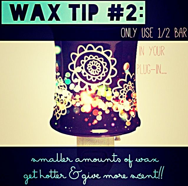 Wax Wednesday is about enjoying more irresistible Scentsy Fragrance. By only using half of a scent cube in your plug-in warmer, smaller amounts of wax heat faster!! Ask me for more info or visit lunaqtuna.scentsy.us