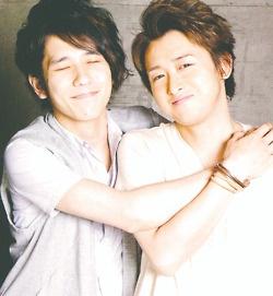 Ahhh, such a cute Ohmiya picture~!