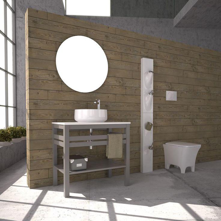 "'PURE WOOD"" BATHROOM FURNITURE,home,new,interior design,accesories,set,new,style,bath,tiles,product,idea,decoration,woman,mirror,porcelain,επιπλο μπανιου,μπανιο,νιπτηρας,καθρεπτης,πλακακια,idea,spa,architecture,decoration"