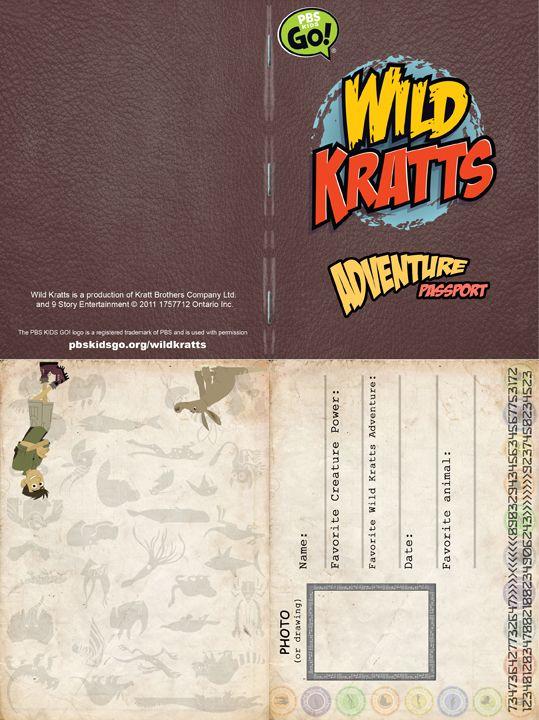 Ved's WIld Kratt Party   PASSPORT