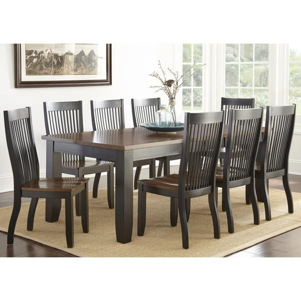 Greyson Living Lexington Dining Set Dining Table Black Dining Table Dining Room Sets
