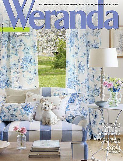 Okładka magazynu Weranda 5/2013 www.weranda.pl