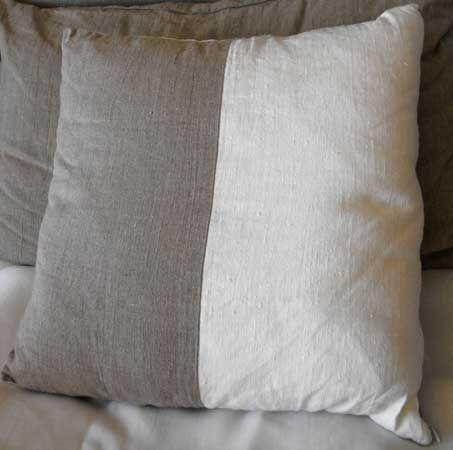 Rough Linen: Orkney Cushion.