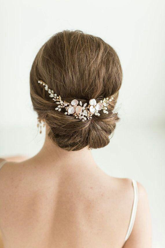 accessoires cheveux coiffure mariage chignon mari e boh me romantique retro bijoux mariage 66. Black Bedroom Furniture Sets. Home Design Ideas