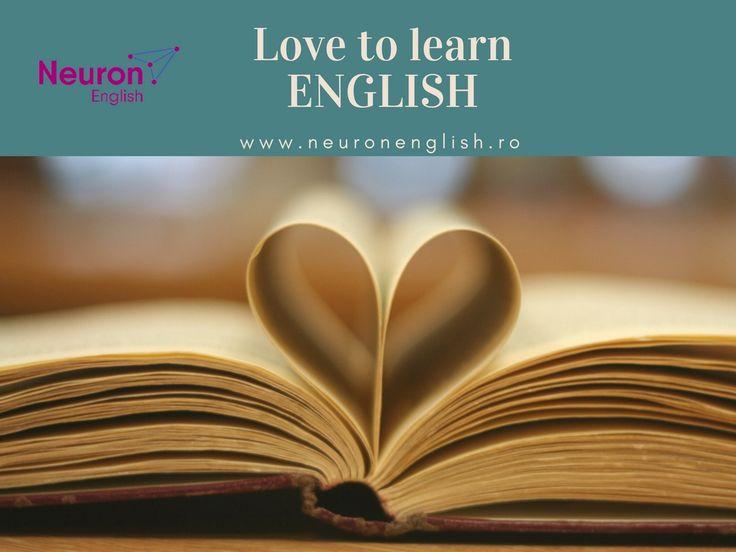 ❤️Love to learn ENGLISH www.neuronenglish.ro