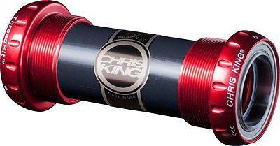 Bottom Brackets 177805: New Chris King Threadfit 24Mm Bottom Bracket Red Full Warranty -> BUY IT NOW ONLY: $154.0 on eBay!