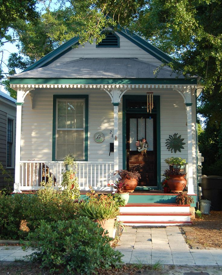 Florida porch for Tiny house with porch
