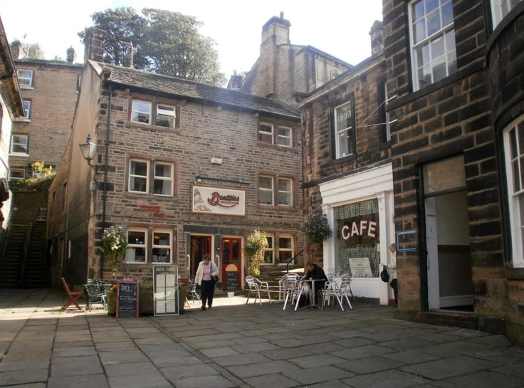 """Sid's Cafe, Holmfirth, set of """"Last of the Summer Wine"""""""