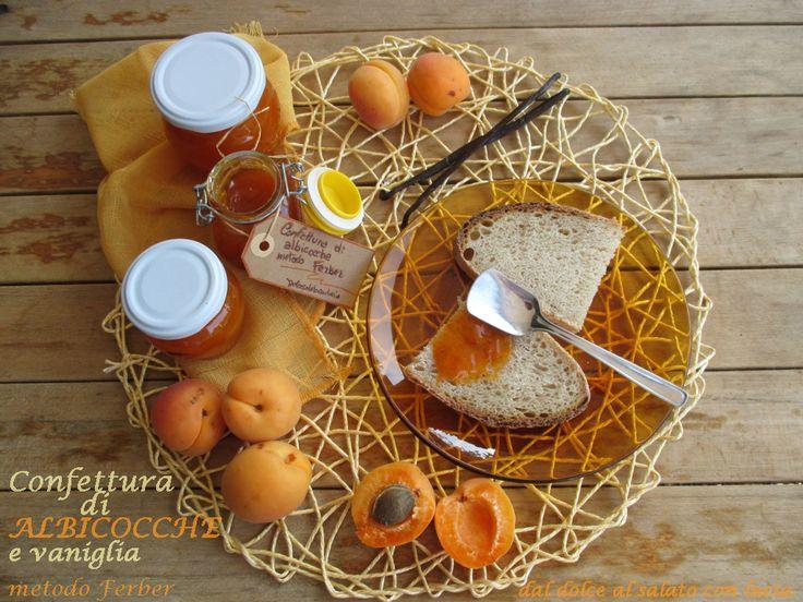 Confettura di albicocche e vaniglia metodo Ferber