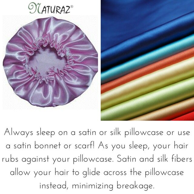 NATURAZ Hair Tip: Are You Sleeping In A Satin Or Silk