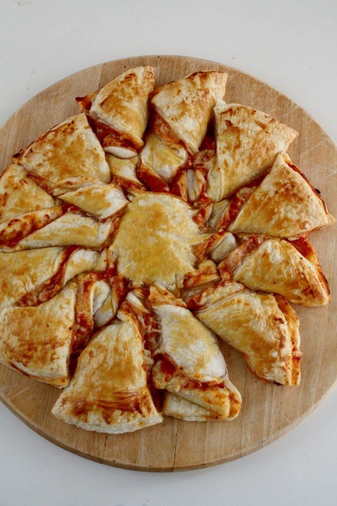 pizza sole di sfoglia