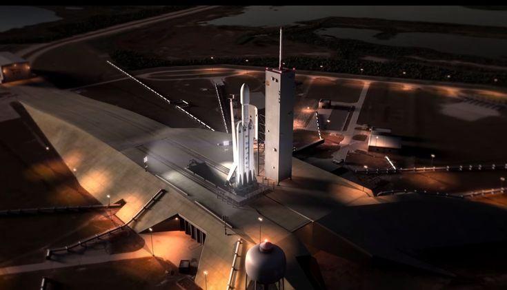 Das neueste Projekt desUS-Raumfahrtunternehmens SpaceX ist dieSuperrakete Falcon Heavy. Sie gilt jetzt schon als die leistungsfähigsteRakete der Welt. Sämtliche Starts ins Weltall sollen mit der neuenFalcon Heavybilliger und leichter werden.
