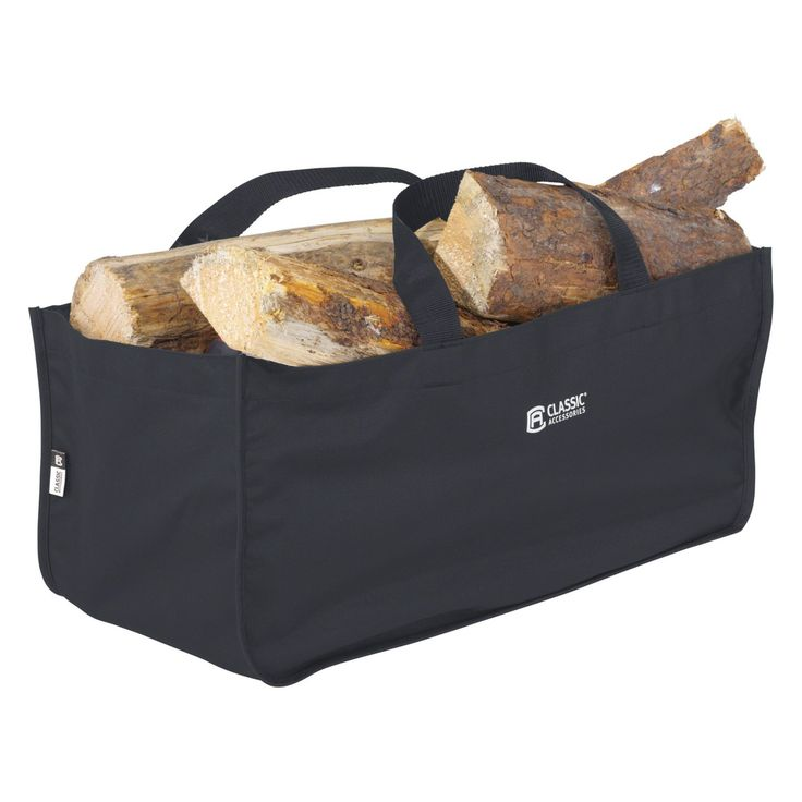 Classic Accessories Classic Black Jumbo Log Carrier - 55-559-010401-00