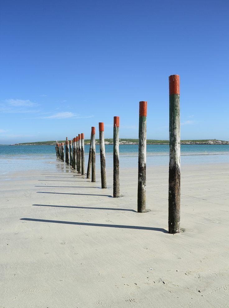 Langebaan lagoon poles | by PSK pix