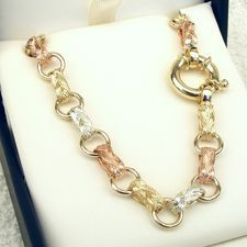 Shop for - 9ct Gold Fancy Gate Chains