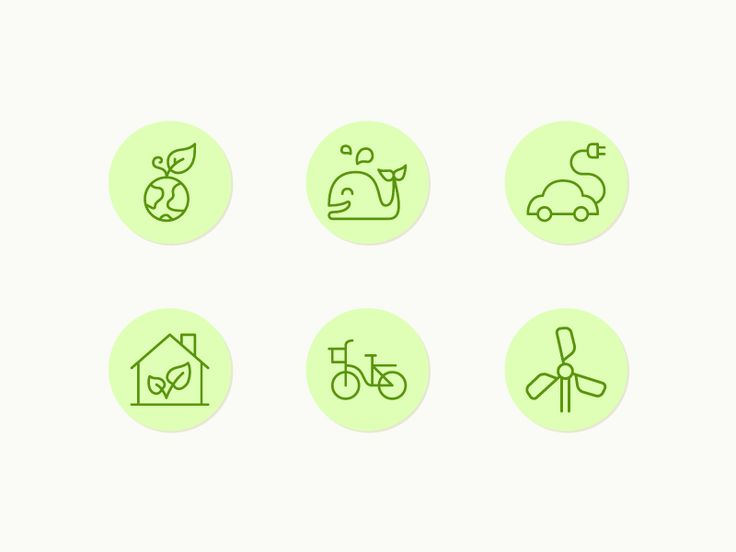 Ecological Icons by Vincent Le Moign