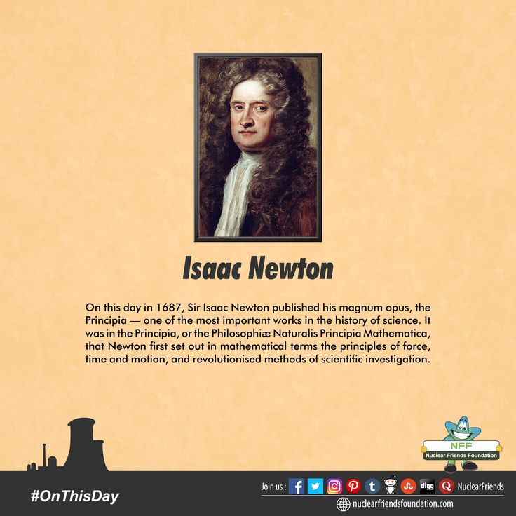 #Onthisday in 1687, Sir Isaac Newton published his magnum opus, the Principia — one of the most important works in the history of science. It was in the Principia, or the Philosophiæ Naturalis Principia Mathematica, that Newton first set out in mathematical terms the principles of force, time and motion, and revolutionized methods of scientific investigation. It is also where he described the concept of gravity and introduced his three laws of motion. The Principia and Newton's wider work…