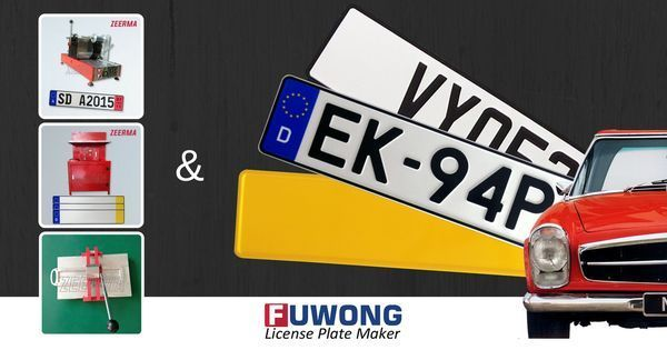India license plate maker Euro plates maker European license plate supplier on Pinterest