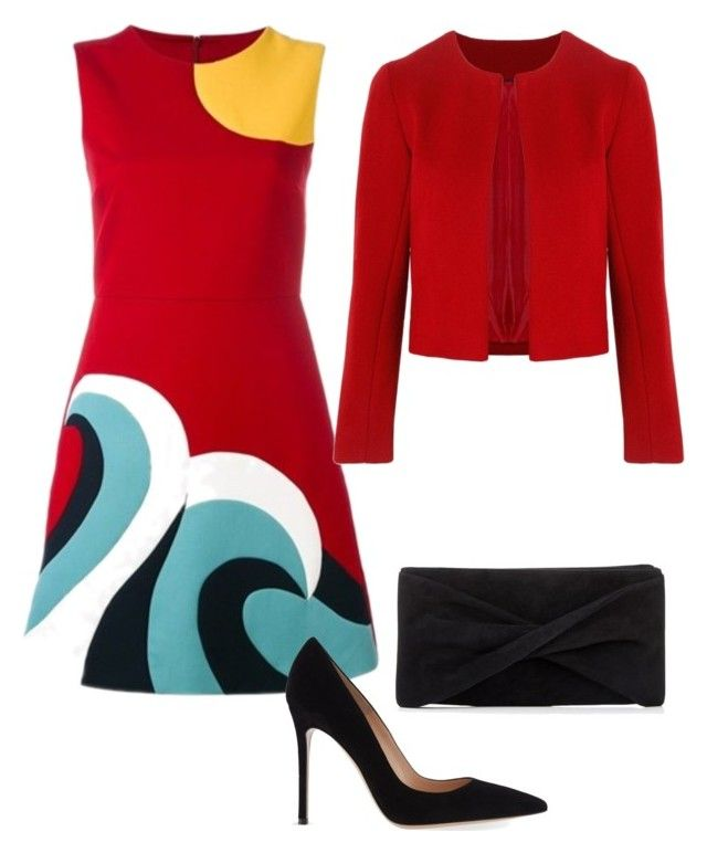 Untitled #17 by mylittlestar on Polyvore featuring polyvore fashion style RED Valentino Related Gianvito Rossi Reiss clothing