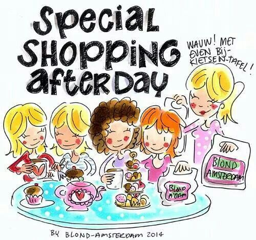 Special shopping after day