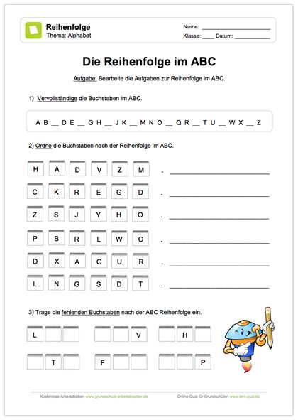 Arbeitsblätter Abc Grundschule : Besten neue arbeitsblätter bilder auf pinterest