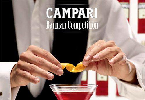 Campari barman competition è un'esclusiva competizione rivolta ai barman e alle barlady che vuole scoprire e premiare il Campari Barman of the Year. Il barman che dimostrerà di possedere più di altri creatività stile e il tocco vincente. Partecipa anche tu alla competizione.