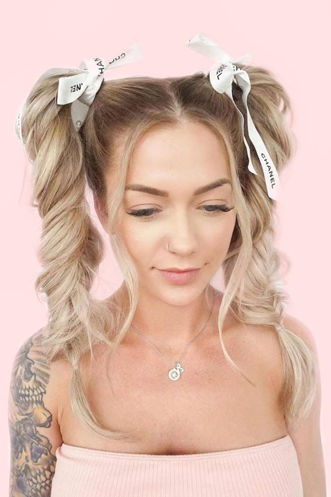 Pigtails Is Another Almost Forgotten Trend That 2020 Brings Back Pigtail Hairstyles Hair Styles Trendy Hairstyles