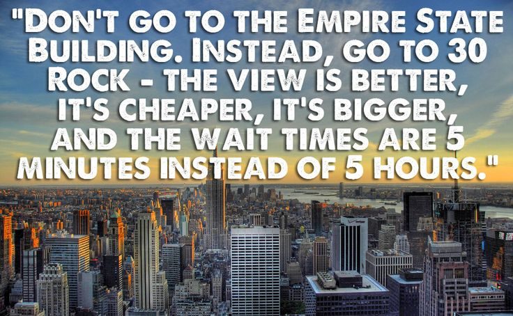 The Empire State Building, New York, USA | 19 Things Locals Want Tourists To Know About Popular Locations