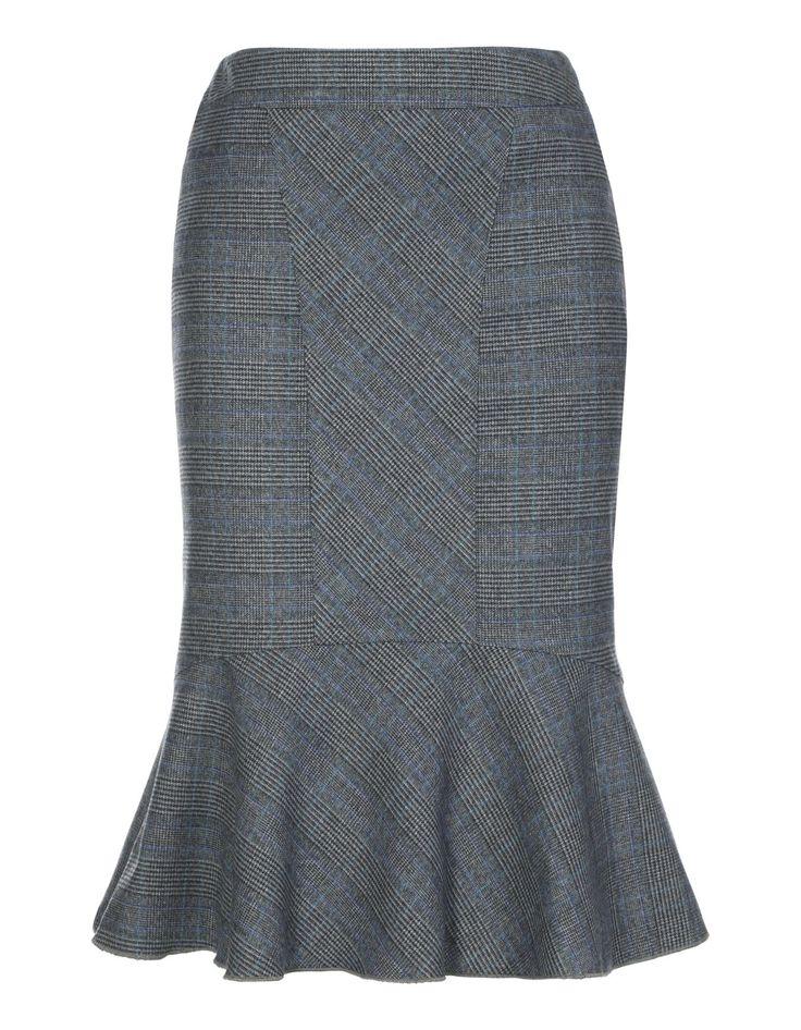 Glencheck-Rock in der Farbe kariert - grau, blau - im MADELEINE Mode Onlineshop
