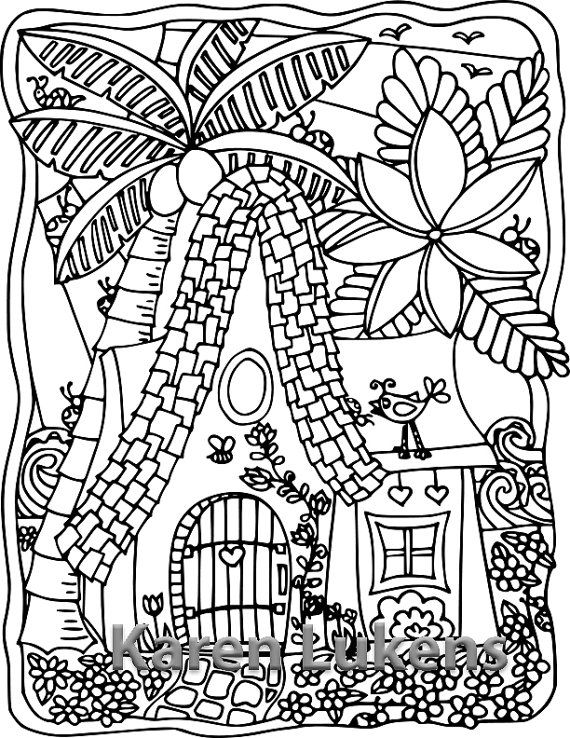 269 best Karen Lukens Artist - Coloring Pages images on Pinterest ...