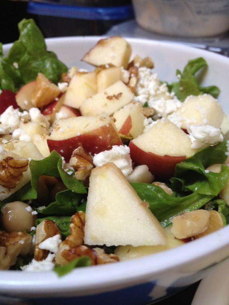 Easy Apple-Walnut Chicken Salad Recipe