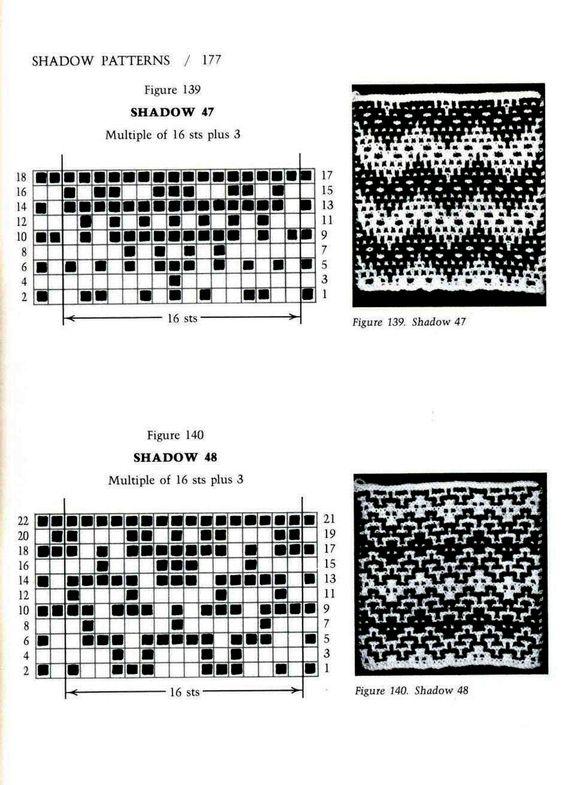 Mosaic Knitting Barbara G. Walker (Lenivii gakkard) Mosaic Knitting Barbara G. Walker (Lenivii gakkard) #182