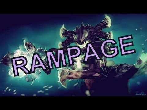 Van - Dota 2 - Outworld Devourer - Rampage - Outworld Devourer + Hurricane Pike = Beast