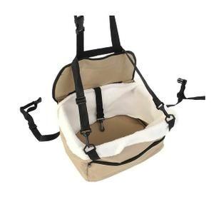 Taille: 31x20x25cm, auto réhausseur laisse pour chien ou chat, Peut également servir de sac de transport grâce aux poignées, résistance à l'usure et anti-dérapant, La ceinture permet de sécuriser la fixation du chien/chat. Ce tapis peut s'adapter