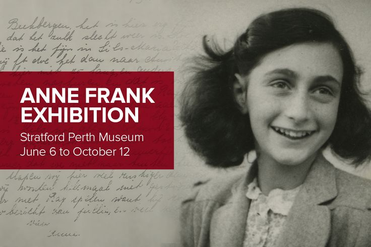 Be inspired by the life and story of #AnneFrank at this summer's exhibition at the Stratford Perth Museum. Straight from the Anne Frank House in Amsterdam, this exhibit will tell the story of Anne Frank, and prompt visitors to reflect on today's society. Book now: http://www.stratfordfestival.ca/BoxOffice/exhibitions.aspx?id=31632&utm_source=pinterest&utm_medium=socmed&utm_campaign=smp-exhibit