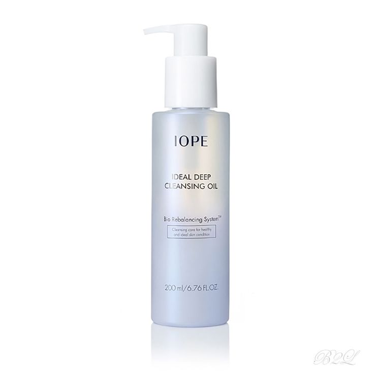 [IOPE] Ideal Deep Cleansing Oil 200ml / Korea Cosmetic Cleanser by Amore Pacific #IOPE