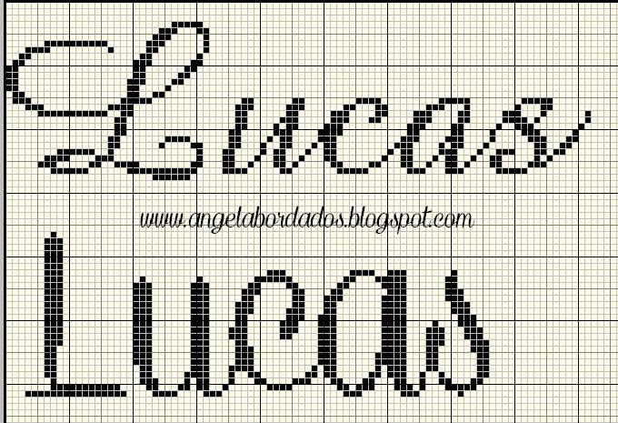 Ângela Bordados: nomes com L