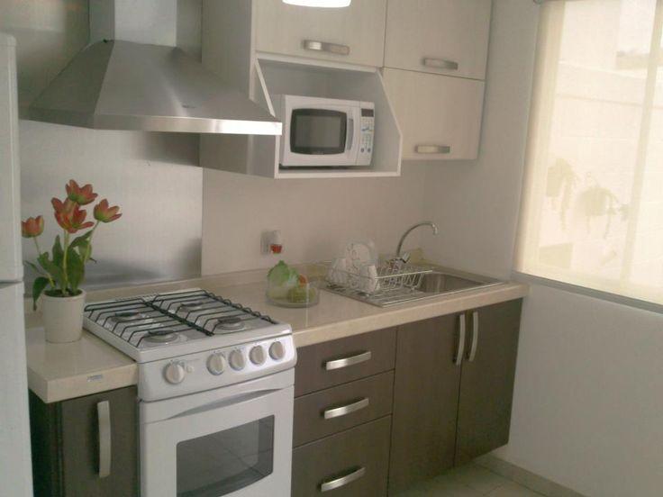 M s de 25 ideas incre bles sobre casas infonavit en for Cocinas modernas para apartamentos pequenos