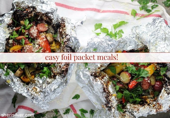 Easy Foil Packet Meals l sherisilver.com #GiveLifeMoreFlavor #ad