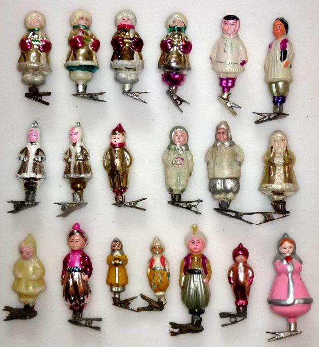 Retro Christmas Toy : Vintage christmas toys