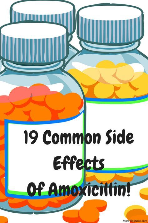19 side effects of Amoxicillin. Here is useful information about the side effects of this medicine.