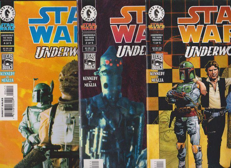 Star Wars Underworld #1-5(Dark Horse,2000)Full Set, Boba Fett,NICE!