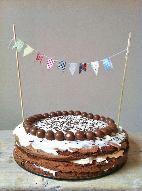 #tambouille #gâteau #chocolat #cake #masking tape