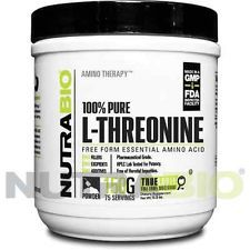 NutraBio L-Threonine Powder - 150 Grams FIGHT INFECTIONS WITH THIS LYSINE VIT C SODIUM ASCORBATE AND METHYLINE BLUE