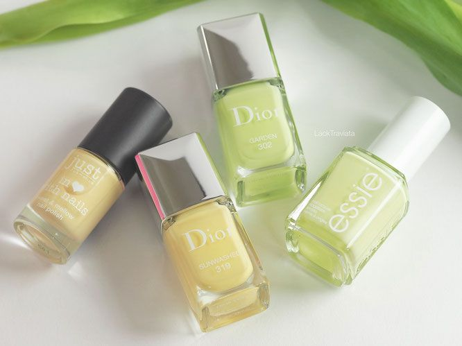 Dior GARDEN - Glowing Gardens Collection Frühling 2016 - LackTraviata - Nagellack-Liebe