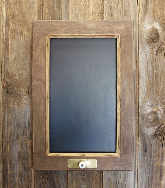 Vintage Window Frame Chalkboard Repurposed by RepurposedKreations