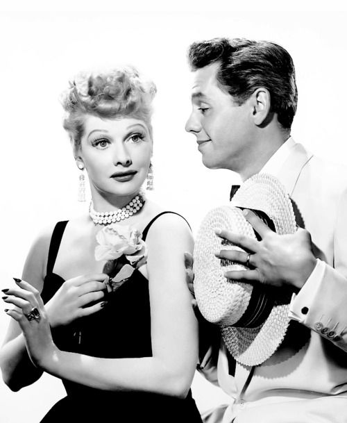 Lucy and Desi played a wacky, loving couple on TV, while their own off camera marriage was stormy.
